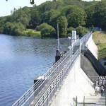 Barrage de la retenue du Moulin Neuf