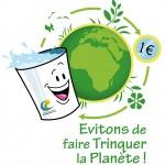 """Logo de l'opération """"gobelets réutilisable"""""""