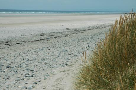 Plage de sable blanc de Kermabec - Tréguennec