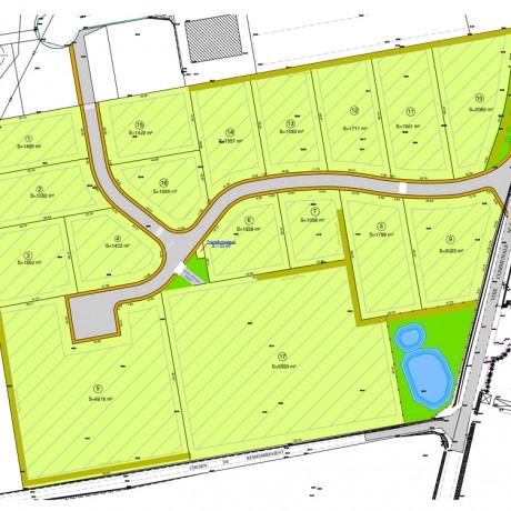 Plan de la zone d'activités de Ti Boutik - Plomeur