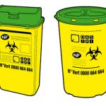 Boîtes de collecte des déchets d'activité de soin à risque infectieux