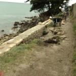 Réfection du sentier côtier à Combrit Sainte Marine - Gr34