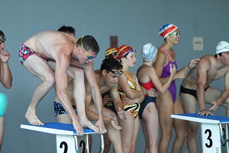 Compétition de nage à Aquasud Pays Bigouden