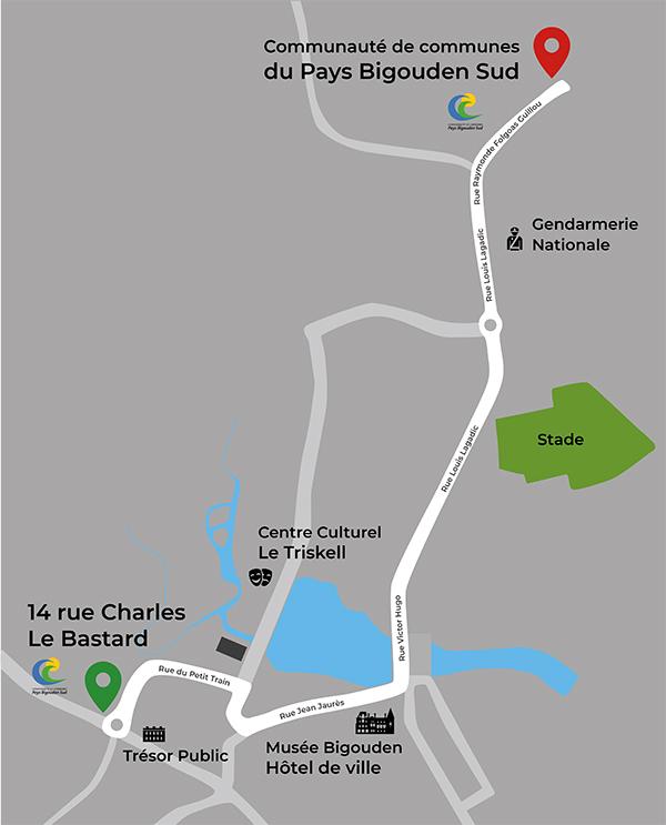 Plan de la CCPBS à Charles le Bastard