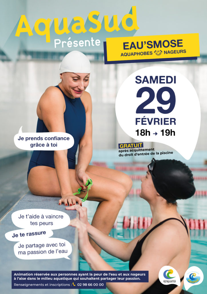 "Animation ""Eau'smose"" à la piscine Aquasud"