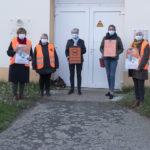 Les élus aux affaires sociales des communes du Pays Bigouden Sud