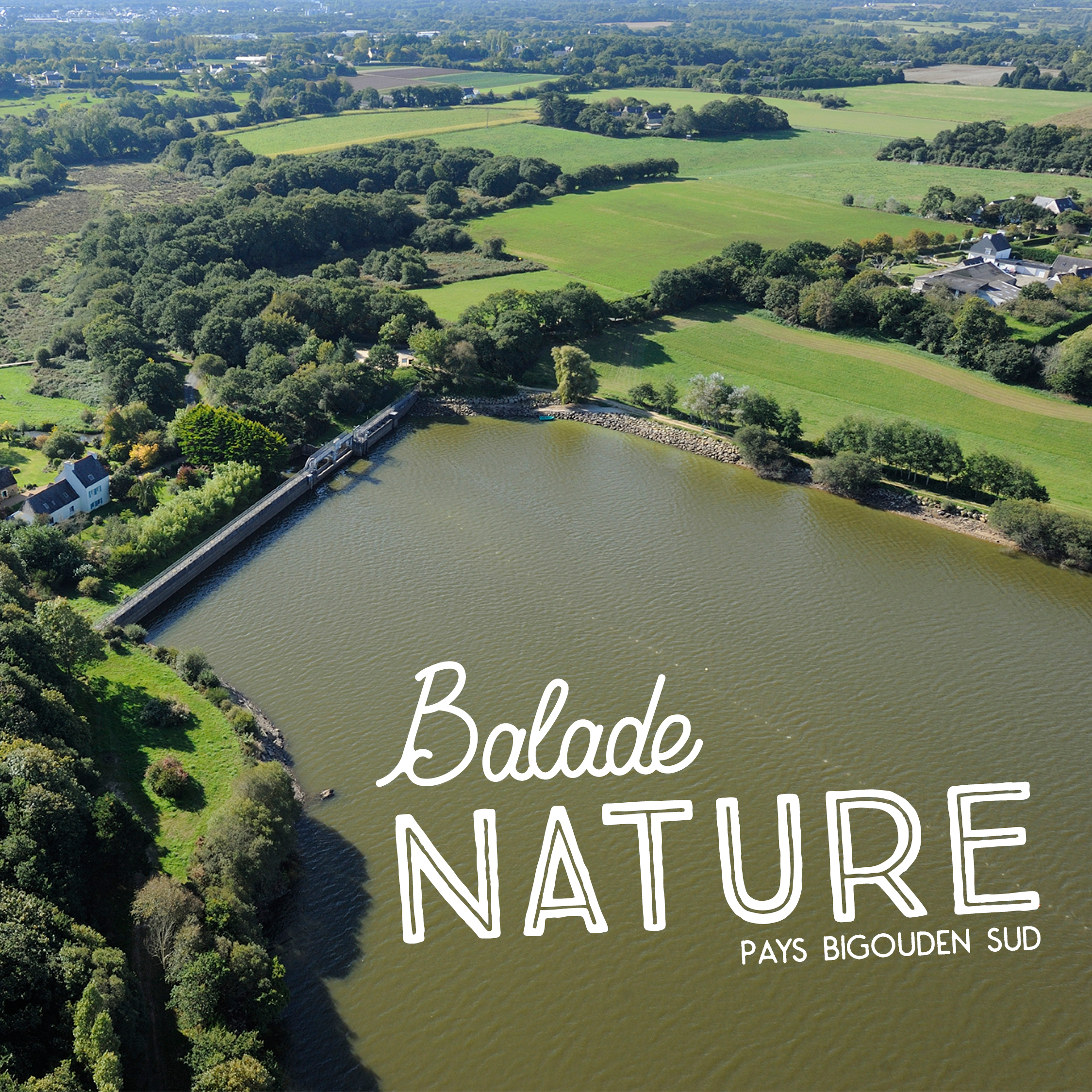 Retenue du Moulin neuf - Balade nature
