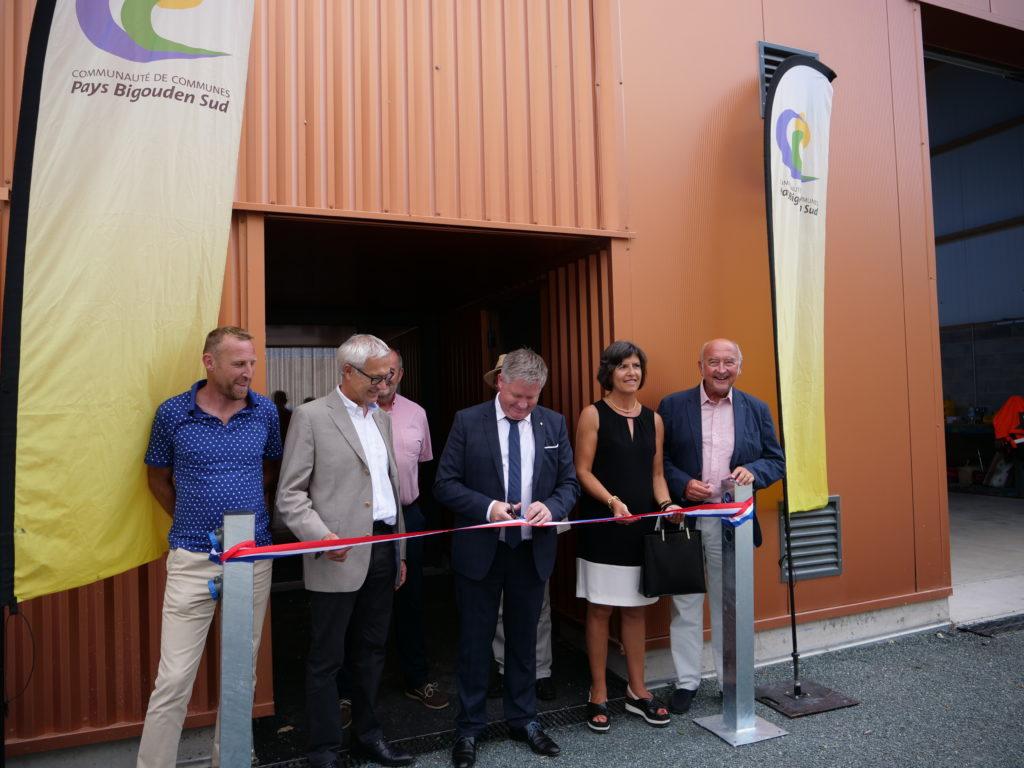 Inauguration de la modernisation - extension de Kérist